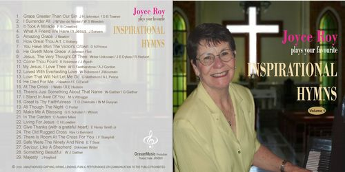 Joyce Roy plays your favourite inspirational hymns