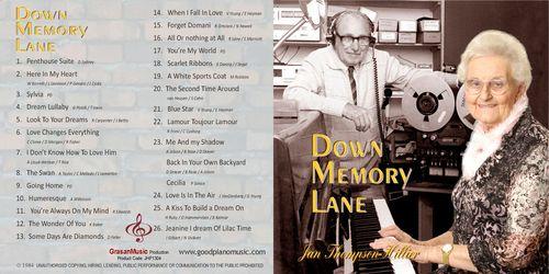 Down Memory Lane - Jan Thompson-Hillier