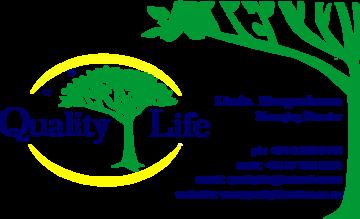 Quality Life Logo & Contact details