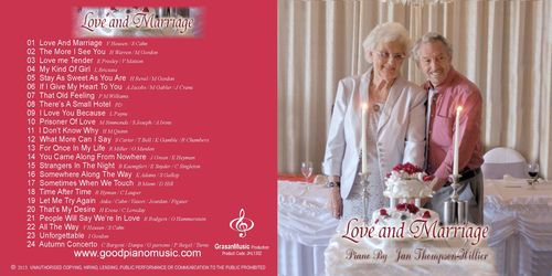 Love And Marriage - Jan Thompson-Hillier