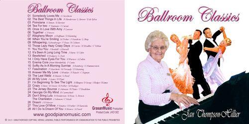 Ballroom Classics - Jan Thompson-Hillier