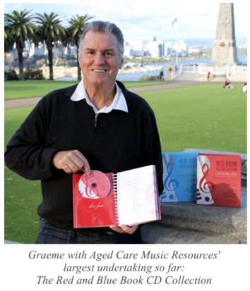Graeme with Aged Care Music Resources