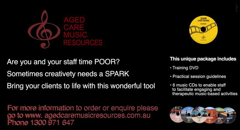 Aged Care Music Resources Contact Us