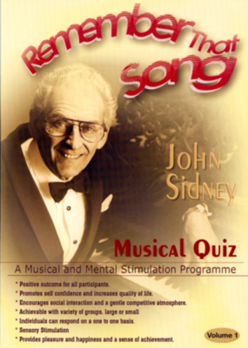 Remember That Song Musical Quiz Volume 1