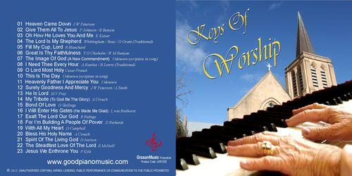Keys Of Worship - Jan Thompson-Hillier
