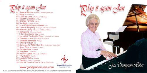 Play It Again Jan - Jan Thompson-Hillier