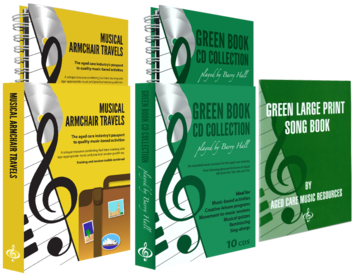 Musical Armchair Travels & Green Book CD Collection
