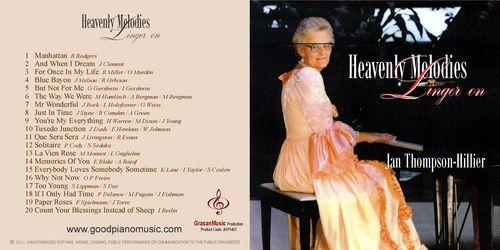 Heavenly Melodies Linger On - Jan Thompson-Hillier