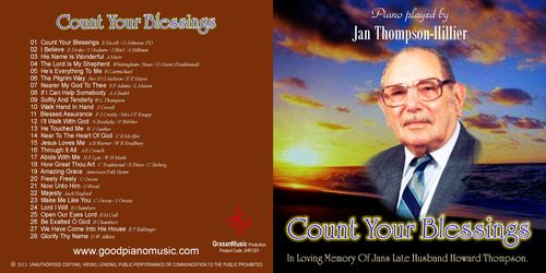 Count Your Blessings - Jan Thompson-Hillier