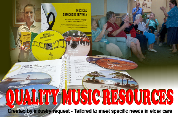 Quality Music Resources, Tailored to meet the needs of our elders in assisted living