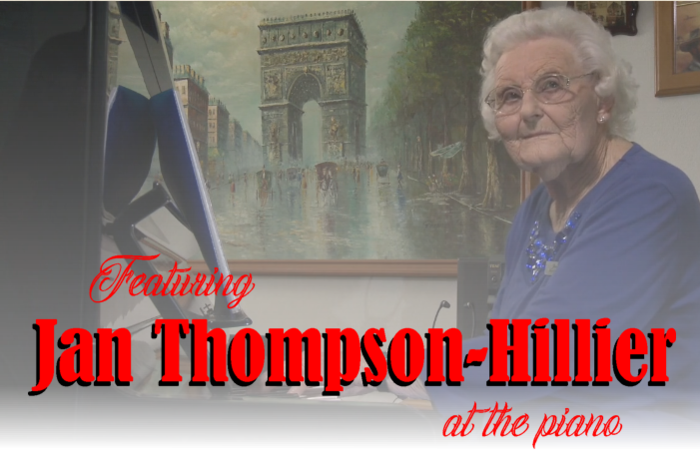 Featuring JanThompson-Hillier at the piano