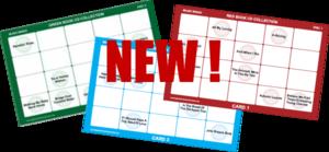 NEW - Musical Bingo Game Card Sets