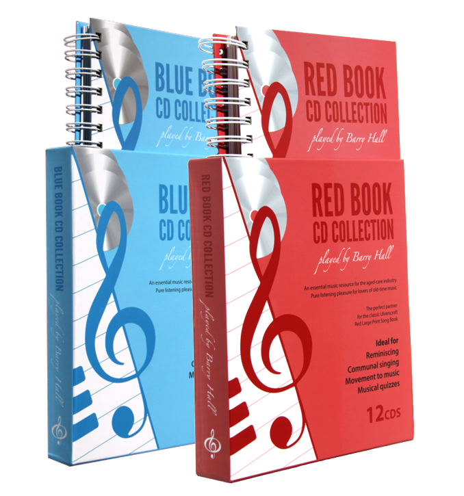 Blue and Red Book CD Collection