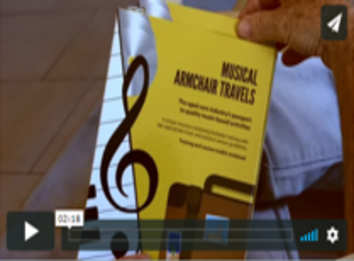 Watch Musical Armchair Travels promo video