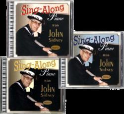 John Sidney Sing-along 3 CD Set